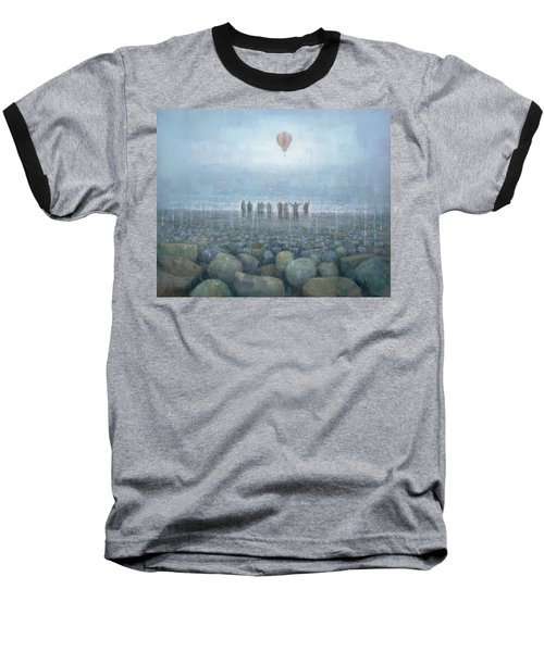 To The Mountains Of The Moon Baseball T-Shirt by Steve Mitchell