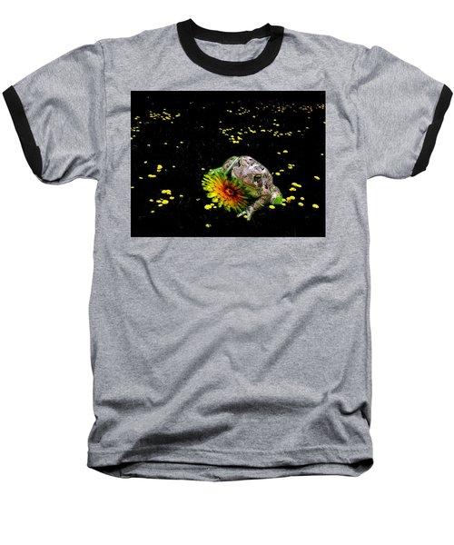 Toad In A Lions Den Baseball T-Shirt