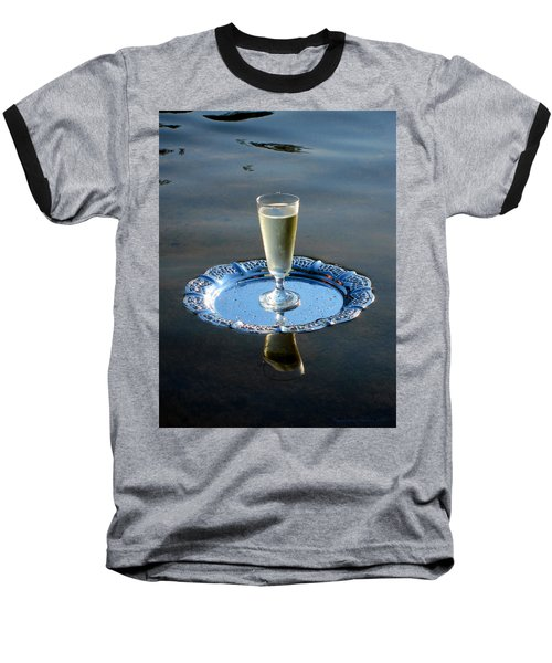 Baseball T-Shirt featuring the photograph Toast To Life by Leena Pekkalainen