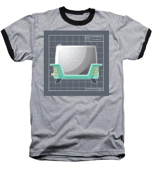 Toastmaster - Aqua Baseball T-Shirt