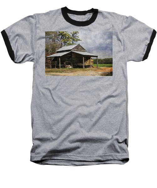 Tobacco Barn In North Carolina Baseball T-Shirt