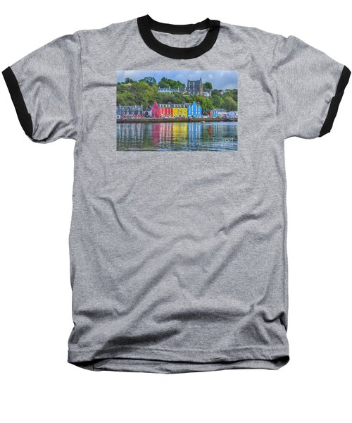 Tobermory Isle Of Mull Baseball T-Shirt