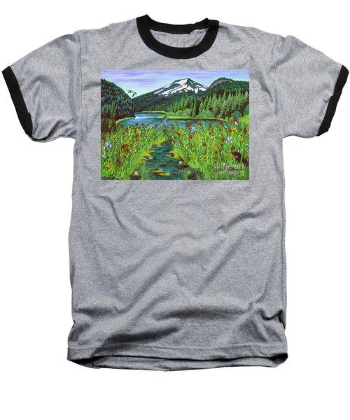 Todd Lake Mt. Bachelor Baseball T-Shirt