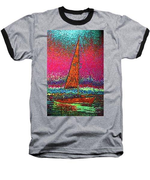 Tom Ray's Sailboat 3 Baseball T-Shirt