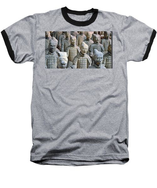 Baseball T-Shirt featuring the photograph Tomb Warriors by Robert Meanor