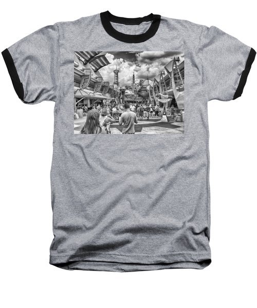 Baseball T-Shirt featuring the photograph Tomorrowland by Howard Salmon