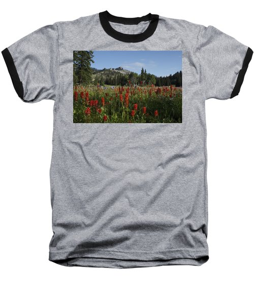 Tony Grove Lake Baseball T-Shirt