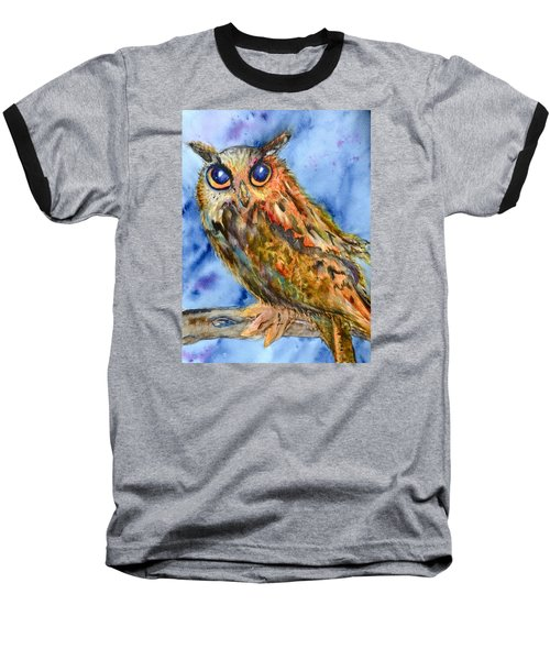 Baseball T-Shirt featuring the painting Too Cute by Beverley Harper Tinsley