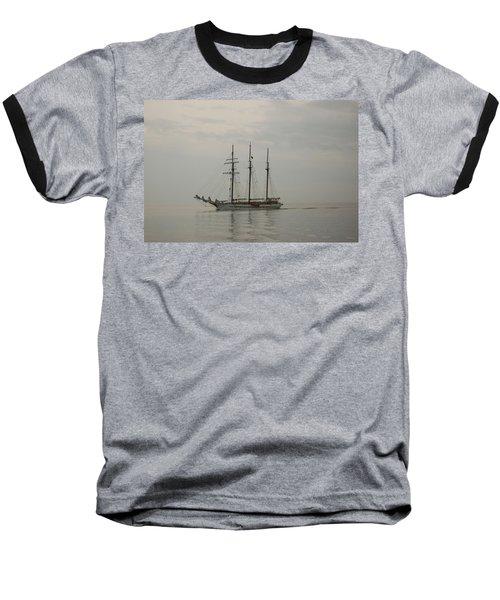 Topsail Schooner Mystic Baseball T-Shirt