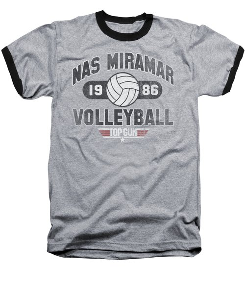 Top Gun - Nas Miramar Volleyball Baseball T-Shirt