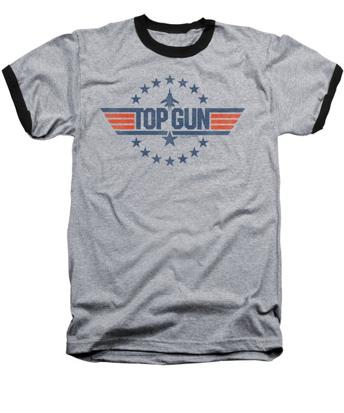 Top Gun - Star Logo Baseball T-Shirt