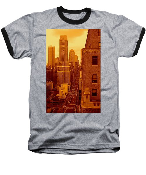 Top Of Manhattan Baseball T-Shirt