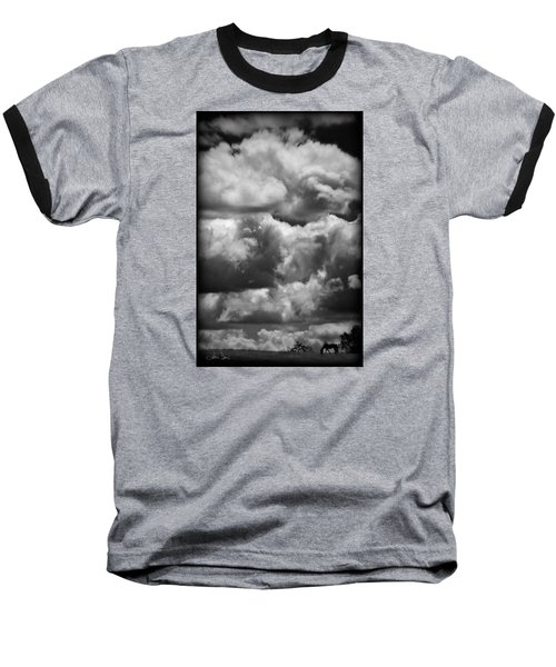 Baseball T-Shirt featuring the photograph Top Of The World by Joan Davis