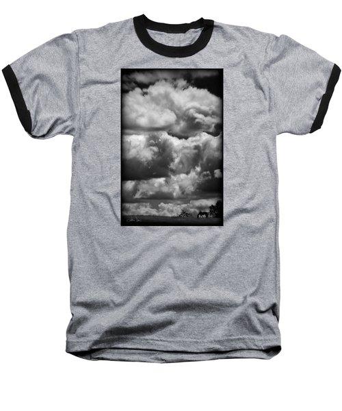 Top Of The World Baseball T-Shirt by Joan Davis