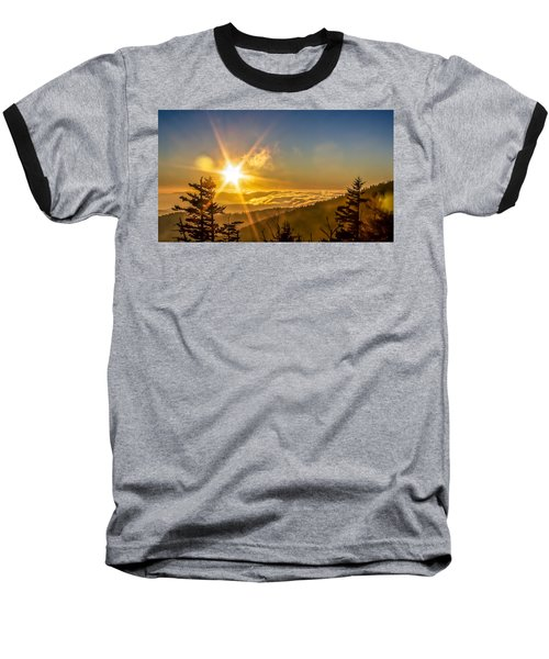 Top Of The World Baseball T-Shirt by Rob Sellers