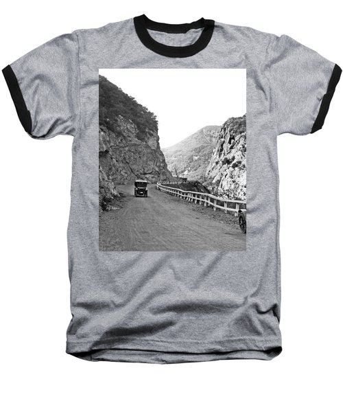 Topanga Canyon Road In La Baseball T-Shirt