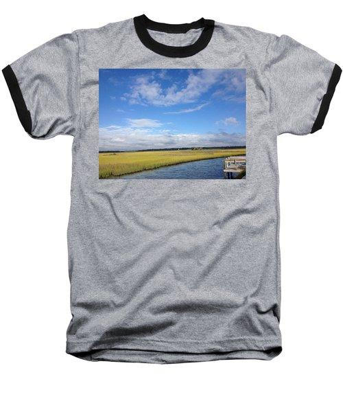 Topsail Island Icw Baseball T-Shirt