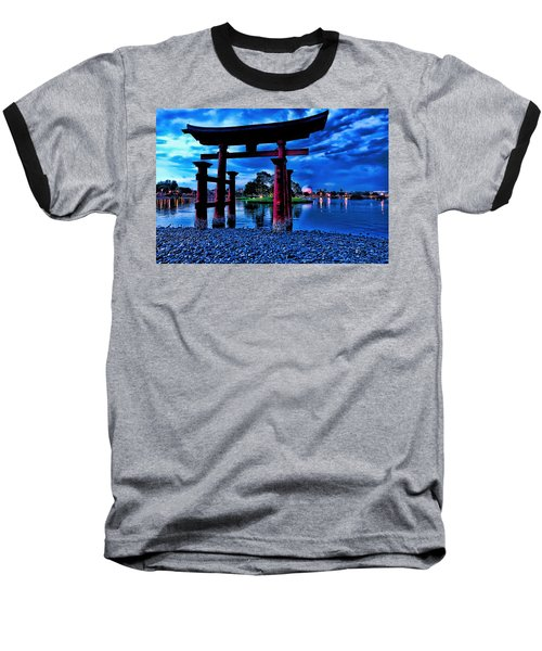 Torii Gate 2 Baseball T-Shirt