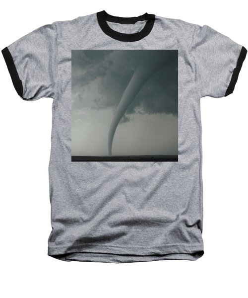 Tornado Country Baseball T-Shirt by Ed Sweeney