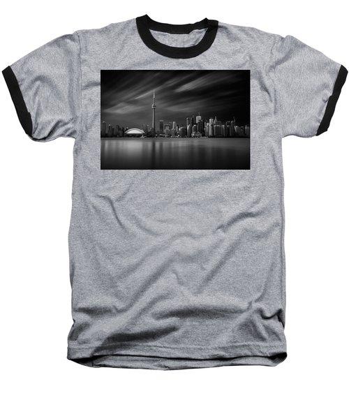 Toronto Skyline - 8 Minutes In Toronto Baseball T-Shirt