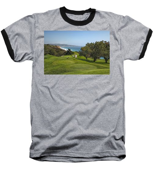 Torrey Pines Golf Course North 6th Hole Baseball T-Shirt