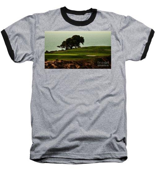 Torrey Pines Golfcourse Baseball T-Shirt