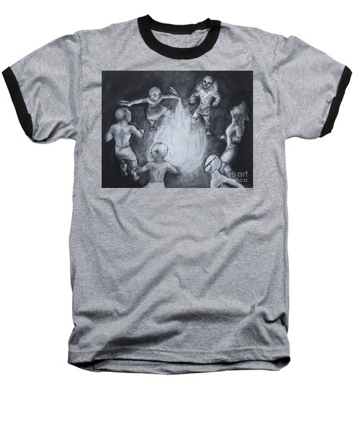 Totem Dancers - Channeling The Spirits Baseball T-Shirt