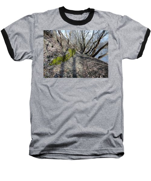 Baseball T-Shirt featuring the photograph Touch Of Green by Michael Porchik