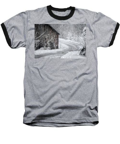 Touched By Snow Baseball T-Shirt