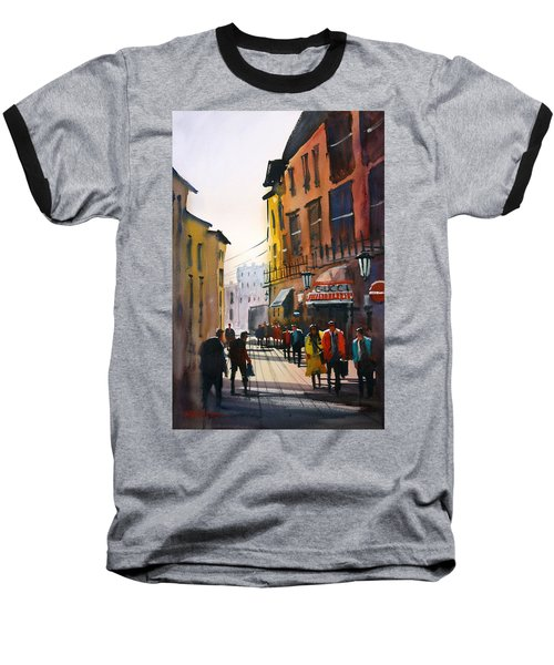 Tourists In Italy Baseball T-Shirt