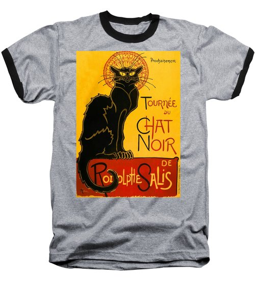 Tournee Du Chat Noir Baseball T-Shirt