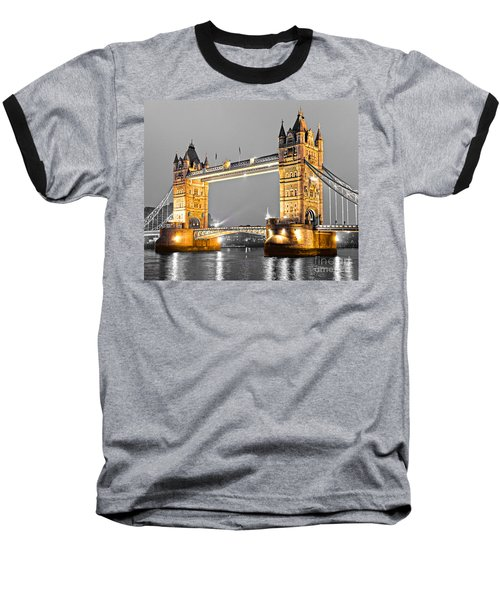 Tower Bridge - London - Uk Baseball T-Shirt