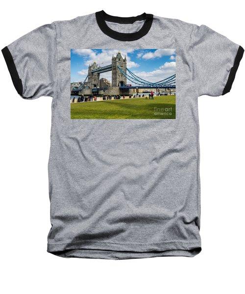 Tower Bridge Baseball T-Shirt by Matt Malloy