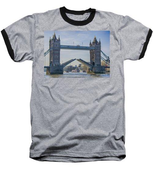 Tower Bridge Opened Baseball T-Shirt