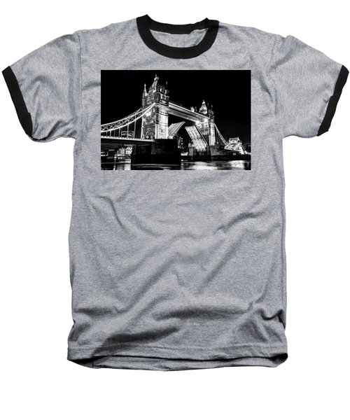 Tower Bridge Opening Baseball T-Shirt