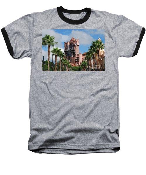 Tower Of Terror  Baseball T-Shirt