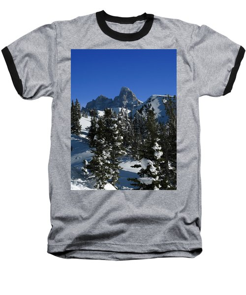 Baseball T-Shirt featuring the photograph Towering Above Lies The Grand by Raymond Salani III