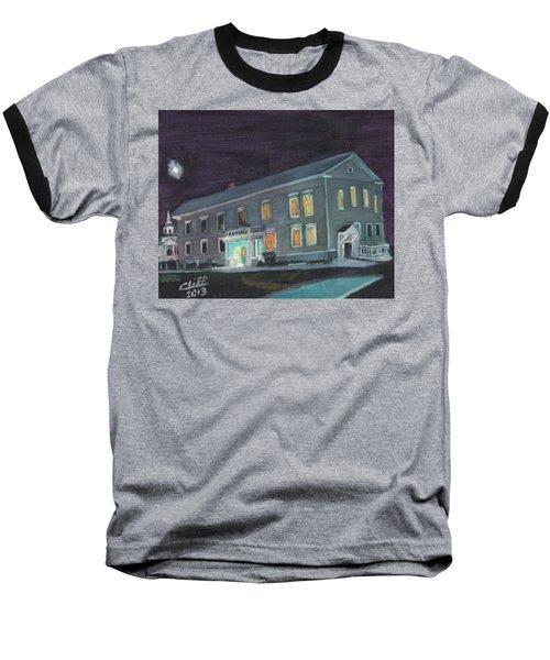 Town Hall At Night Baseball T-Shirt
