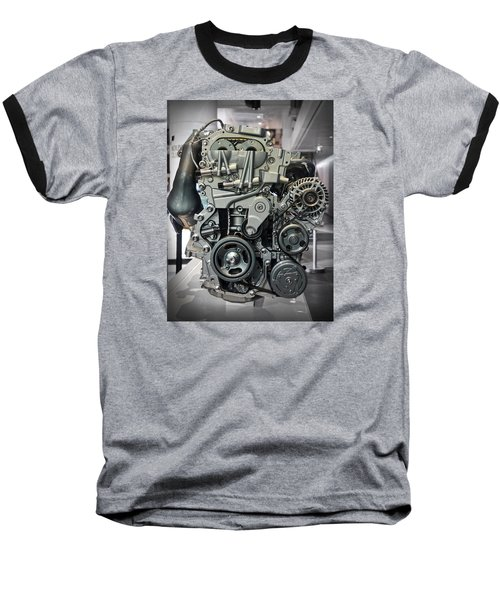 Toyota Engine Baseball T-Shirt