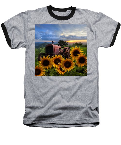 Tractor Heaven Baseball T-Shirt
