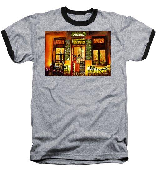 Traditional Greek Shop At Skopelos Baseball T-Shirt