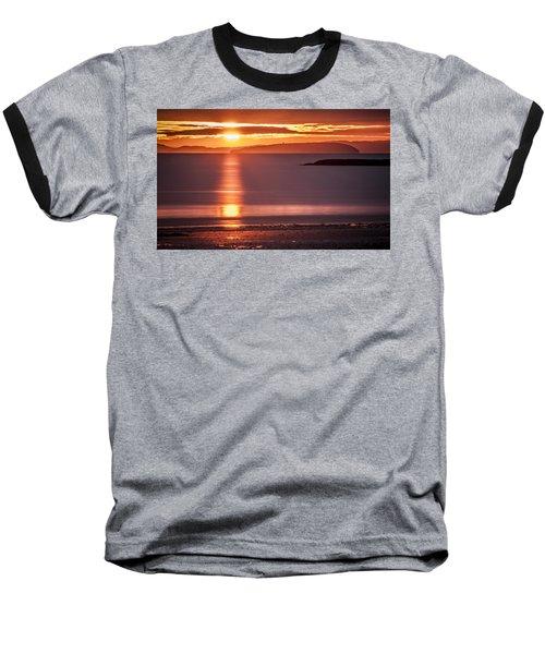 Traeth Bychan At Sunrise Baseball T-Shirt
