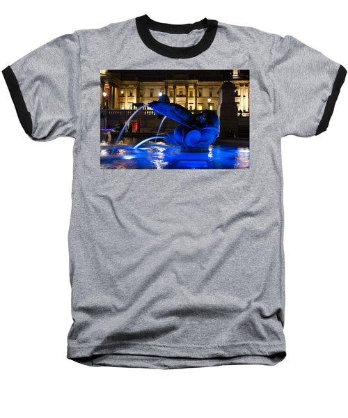 Trafalgar Square At Night Baseball T-Shirt