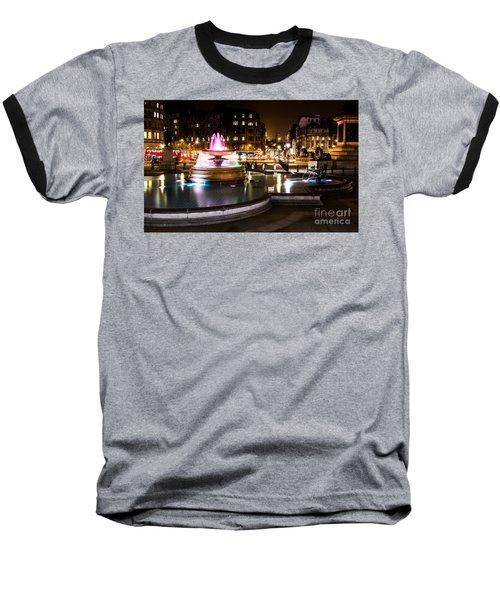 Baseball T-Shirt featuring the photograph Trafalgar Square by Matt Malloy