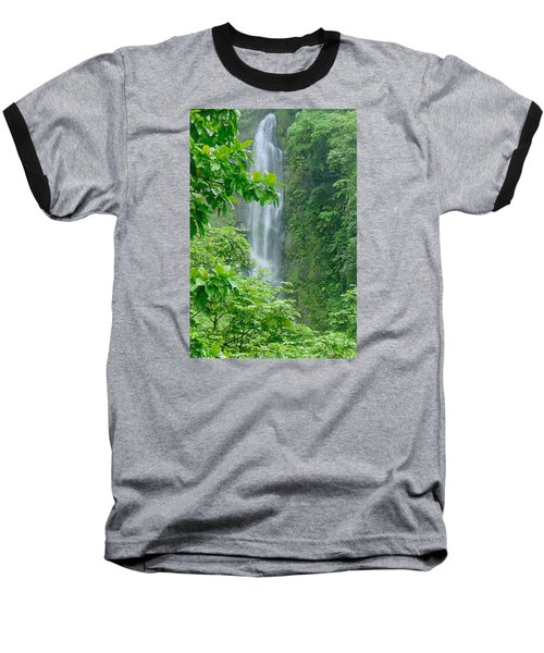 Trafalger Falls Baseball T-Shirt by Robert Nickologianis