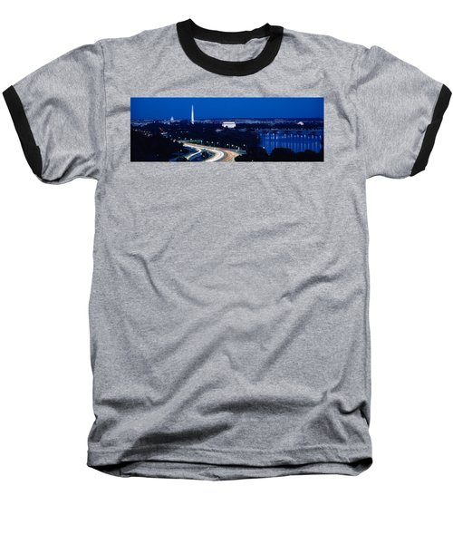 Traffic On The Road, Washington Baseball T-Shirt by Panoramic Images