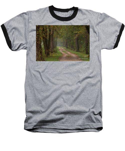 Trail Along The Canal Baseball T-Shirt