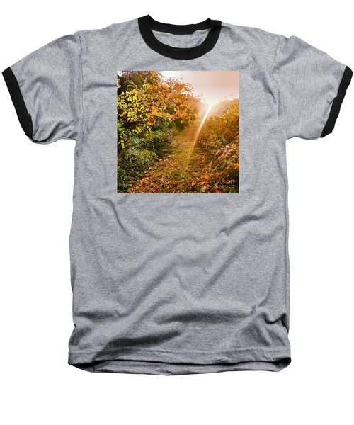 Fall Trail Baseball T-Shirt