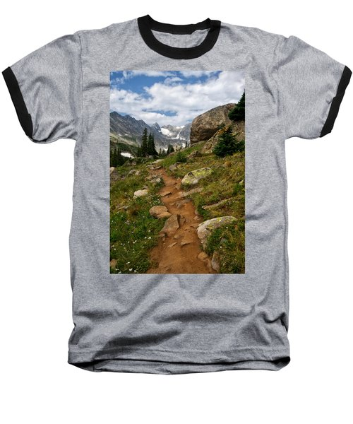 Trail To Lake Isabelle Baseball T-Shirt