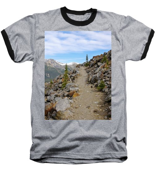 Trail To The Meadows Baseball T-Shirt